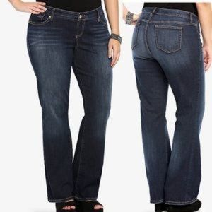 "Torrid ""Slim Boot"" cut Jeans  SHORT"